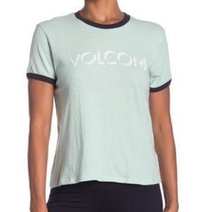 Volcom Womens Ringer Shirt